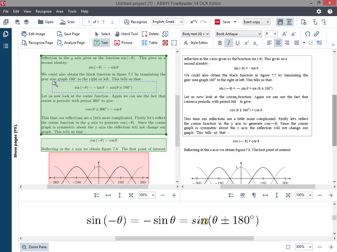 New in finereader 14 pdf editing tools ocr for document comparison 12 formulas gamestrikefo Images