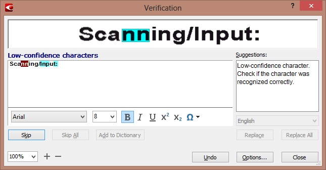 Extract text from photo and scans with professional OCR ...