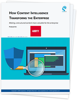 Download Cognilytica White Paper on Content Intelligence for digital enterprise