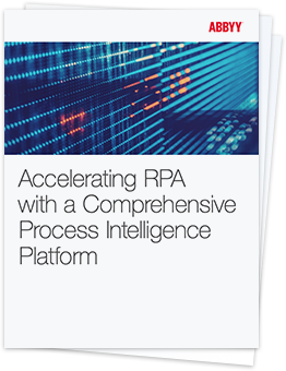 Process Intelligence in RPA - ABBYY White Paper