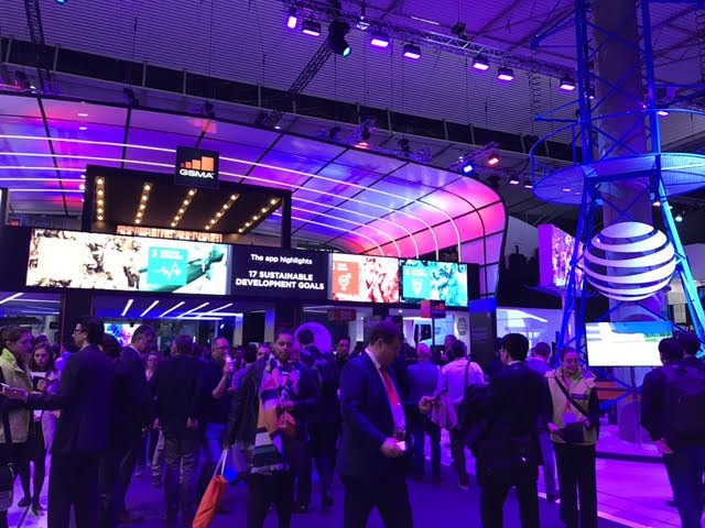Mobile World Congress held in Barcelona
