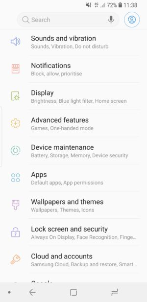 Android Protect Data Lock screen security
