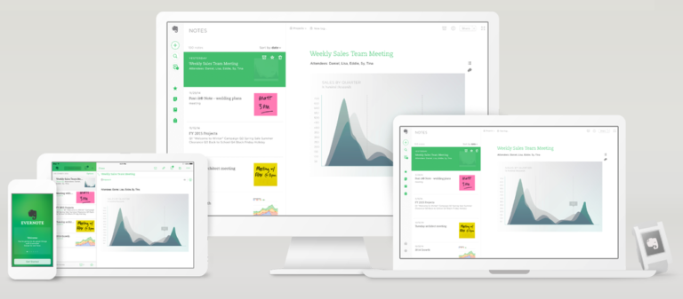 App Evernote time management effective
