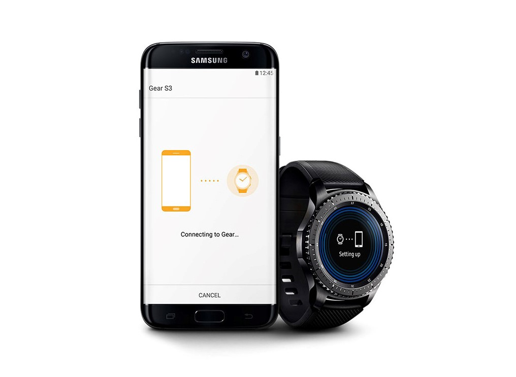 pair up Gear S3 Android smartphone
