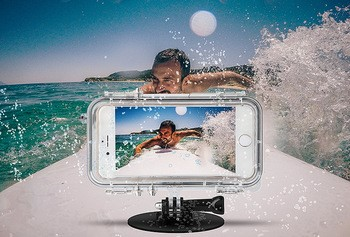 gadget for selfies underwater photo shooting cover
