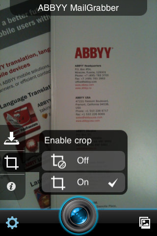 mailgrabber old app by abbyy