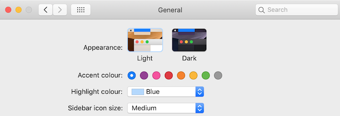 dark theme on mac