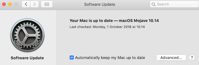 automatically update mac