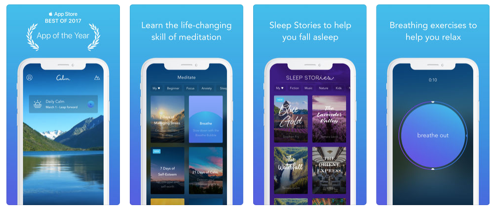 meditation app iphone