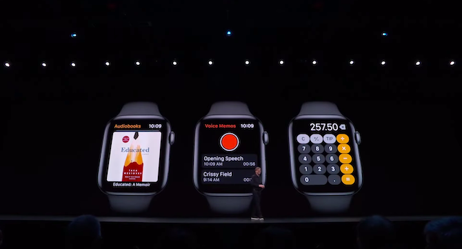 new apps in watch os 6